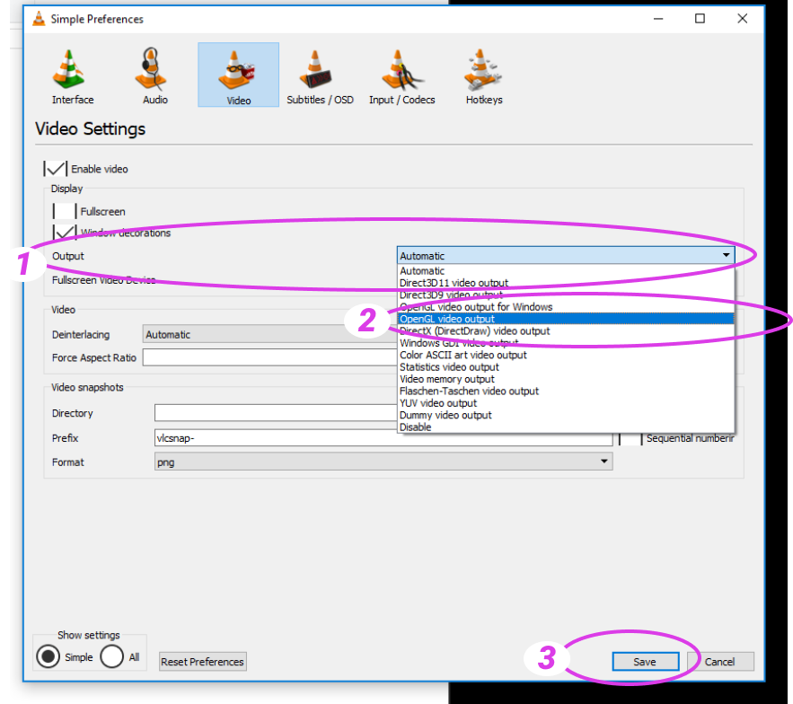 Black screen when streaming VLC media player – Kast Support