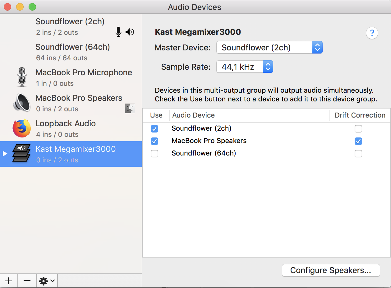 How to stream computer audio on a Mac – Kast Support